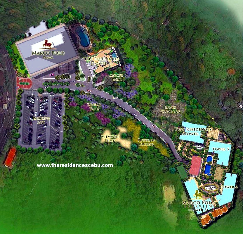 Marco Polo Residences is a luxury development of Federal Land in Nivel Hills, Cebu City.