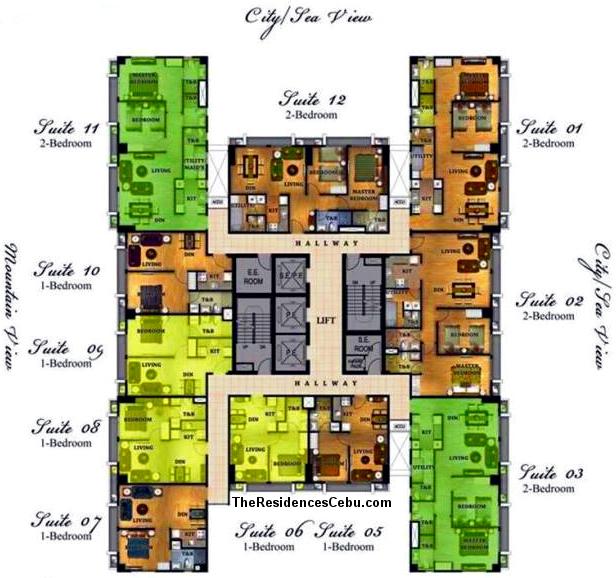 Marco Polo Residences Cebu City is a condominium development of Federal Land.