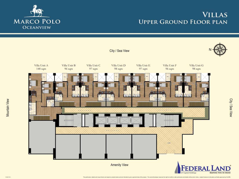 Residences Evelyn Floor Plan Floor Plans Marco Polo Residences